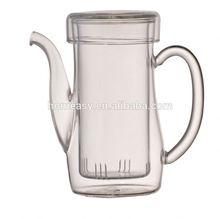 eco-friendly high quality glass pot hot sale