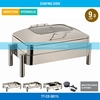 2014 New Model Commerical Glass Cover Induction Chafing Dish
