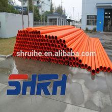 electrical conduit pipe rigid underground sunbow manufacturer pvc tube