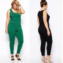 jumpsuit fashion new design/women plus size fashion jumpsuit
