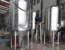 USA Hot sales Stainless steel Jacket Fermenter/Jacket fermentation tank/conical fermenter
