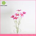 flor artificial com fornecedores chrysantehmum grinalda para funeral