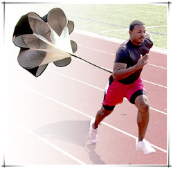 "40"" 48"" 56"" Speed Running Power Chute Speed Training Resistance Exercise Parachute"