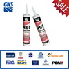 ultra-violet resist coated glass silicone sealant
