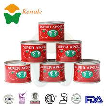 28-30 Tomato paste, raw material tomato sauce 70gX50tins