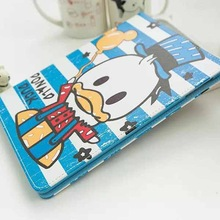 3D Cartoon Cute Flip Stand Leather Cover Case For Apple iPad mini