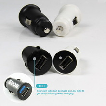PU Coated 3.1A single USB Car Charger Adapter for Samsung i9600 / Iphone6/ and other USB Device