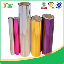 new product metalized film/silver PET film/metalized PET thermal lamination film