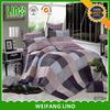 Wholesale best selling hotel microfiber sheet set/300tc sateen sheet set/bedding set jacquard