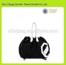 black shoulder bag portable handbag