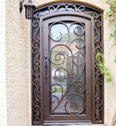 Custom Entry Iron Door FS-147