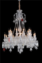 New Design Glass Arm Chandelier Lamps for Arabians