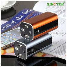 SINOTEK fashion design travel battery new products powerbanks 12000mah
