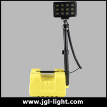 Super brightness Portable industrial led search light LED flood light with emergency lamp system