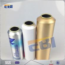 Tin aluminum aerosol refillable spray can paint