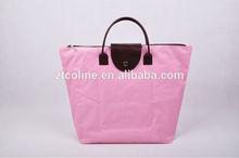 pink shopping bag/folding shopping bag/reusable shopping bag