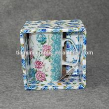 Gift box bulk tea cups porcelain cheap