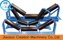 High carrying capacity and low noise conveyor supporting idler rollers