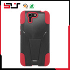 Hybird silicone &plastic rugged case for asus padfone x