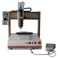 Automatic gluing unit for epoxy sealant