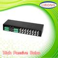 Jr-2044rt-16 16ch balun pasivo de vídeo hub para circuito cerrado de televisión con el ce, rohs& de la fcc