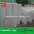 refractario 1260c silicato de aluminio y fibra de papel de algodón