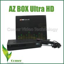 Best Digital Satellite Receiver AZbox Ultra HD DVB-S2 for South America in stock azbox hd satellite receivers
