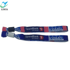 Gifts and premiums polyester music novelty wristbands for promotion