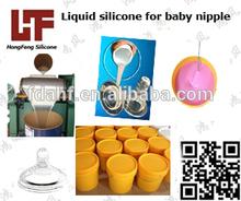 Baby nipple liquid silicone rubber high transparent food grade silicone rubber FDA certificate rubber