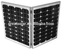 Excellent craftsmanship 120w Foldable mono solar panel