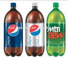 2.5L carbonated drink bottle shrink labels