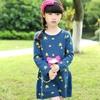 Taa1080 2014 autumn children star pattern girls birthday dress designs