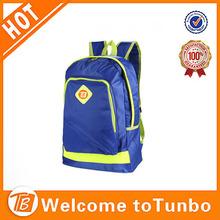 600D school bag backpack custom fashionable men side bags for college