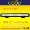 """Super brilhante 120w automotivo usado led barra de luz, 120w 20"""" offroad 4x4 caminhões trator cree led barra de luz"""