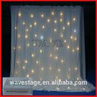 HOT WLK-3W White fireproof Velvet cloth White leds curtain backdrop portable stage curtain backdrop