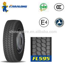 Faralong FL595 Radial Truck Tire 1000-20, Boto Truck Tire Quality