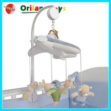 Wind-Up Auto Music Box baby crib hanging toy,blue box baby toy,baby musical hanging toys