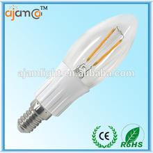 Energy saving good quality Ra>85 3w led candle light e14