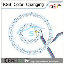 DC12~24V car accessory Angel Eye/tuning light (Single/Dual/RGB color) automotive led W203
