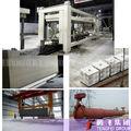 Caliente! Aac panel de pared de hormigón máquina de corte 50000 - 300000 m3 / año