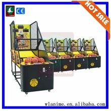 2014 China basketball arcade game machine, electronic basketball scoring machine