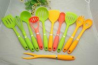 alibaba express, 11pcs set nylon kitchen utensils/tools/item/gadget/equipment/appliance/accessory/tools/utensils
