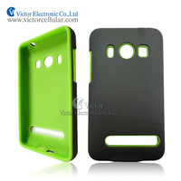 Alibaba China hot new retail products cell phone accessories PC silicone combo case for HTC EVO 4G