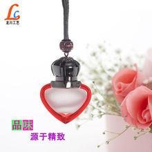 Heart shaped Glass perfume empty bottles