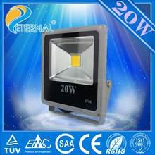 Meanwell driver CE RoHS IP66 cool white 20w led rgb flood lighting