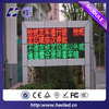 Top Qaulaity Semi-Outdoor Single Color Sales P10 Led Display for Car Advertising