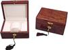 Elegant wooden watch gift box paint casio watch box luxury watch packaging box