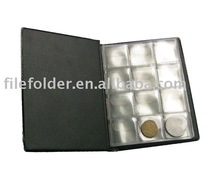 PVC collect coin album promotion gift