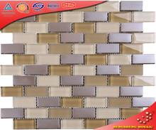 HSD90 23*48mm Frugal But Elegant Warm Color Mosaic Bathroom Tile Combinations