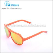 Orange frame photochromic fashion sunglasses